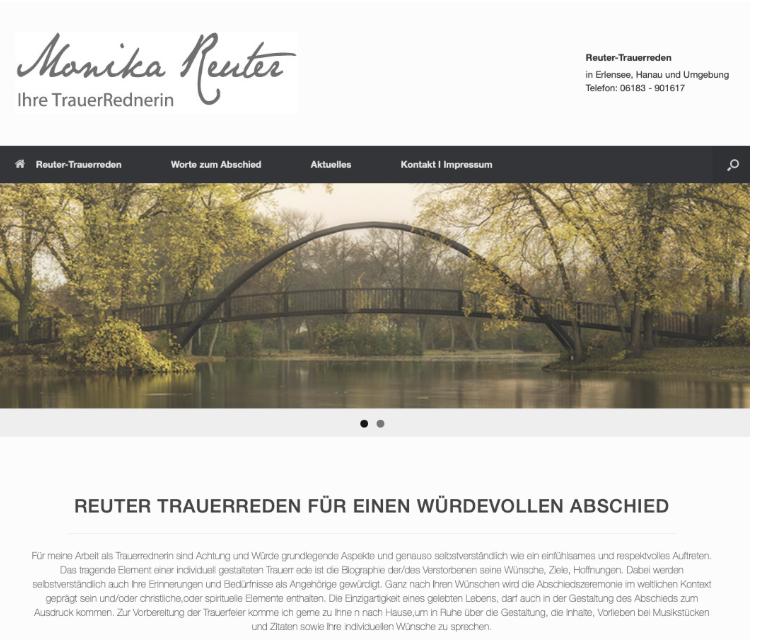 Trauerreden Reuter